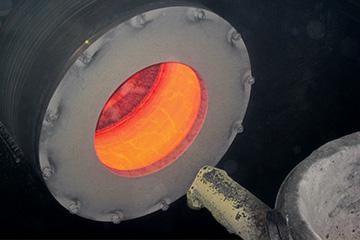 Colata centrifuga